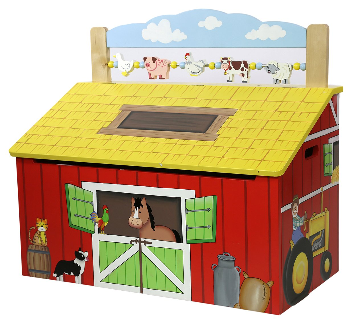 fantasy fields happy farm toy box.