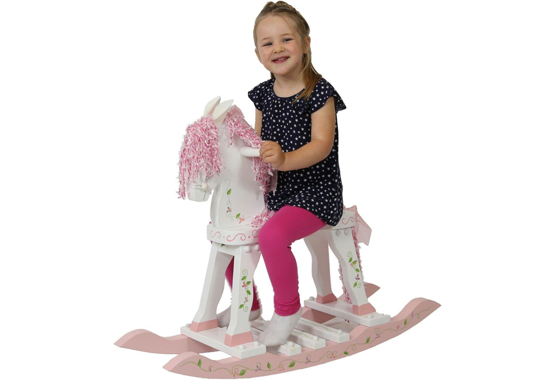 Image of Fantasy Fields Princess and Frog Rocking Horse.