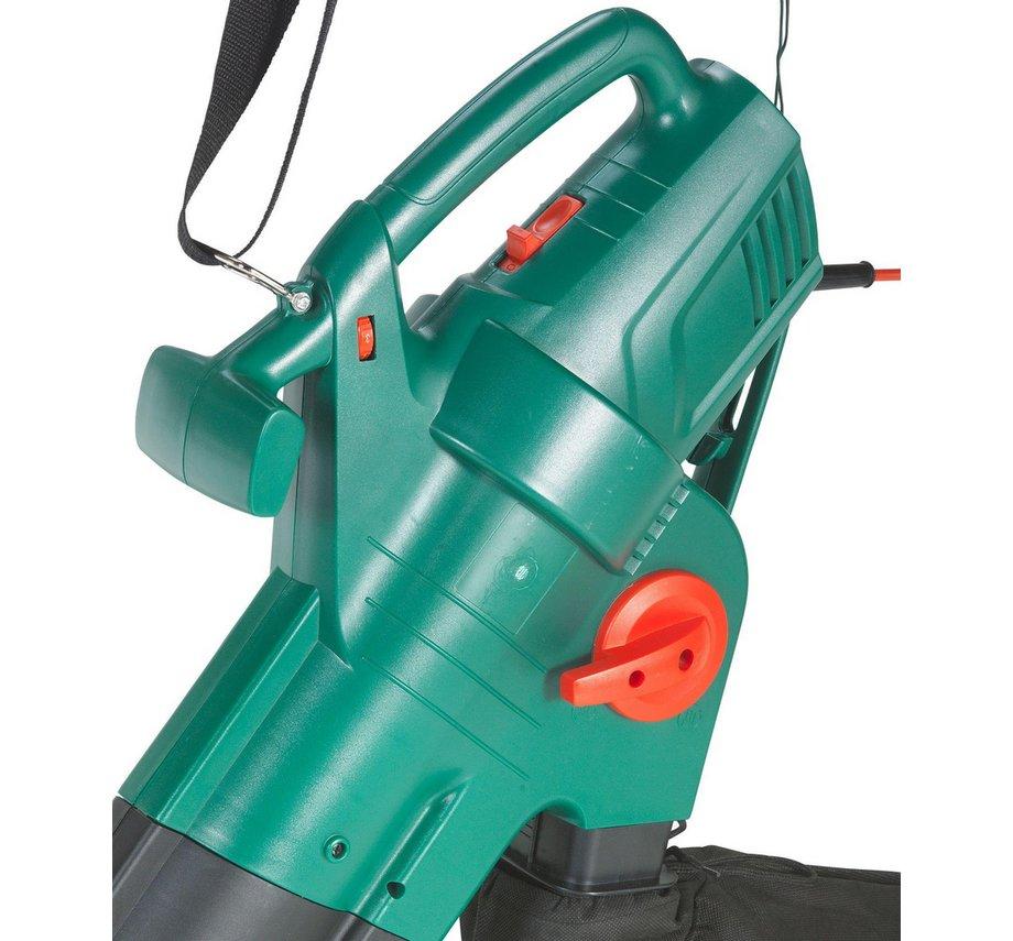 qualcast yt623105x 2800w corded garden leaf blower and vacuum. Black Bedroom Furniture Sets. Home Design Ideas