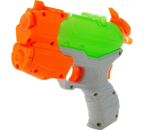 Licensed High Qulity Nerf Super Soaker Freeze Fire Water Gun Blaster Toy
