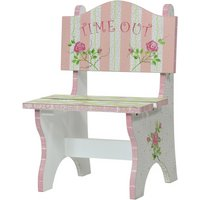 Fantasy Fields Crackled Rose Time Out Chair.