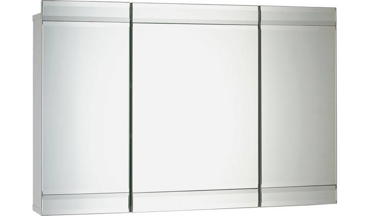 Buy Argos Home 3 Door Mirrored Wall Cabinet
