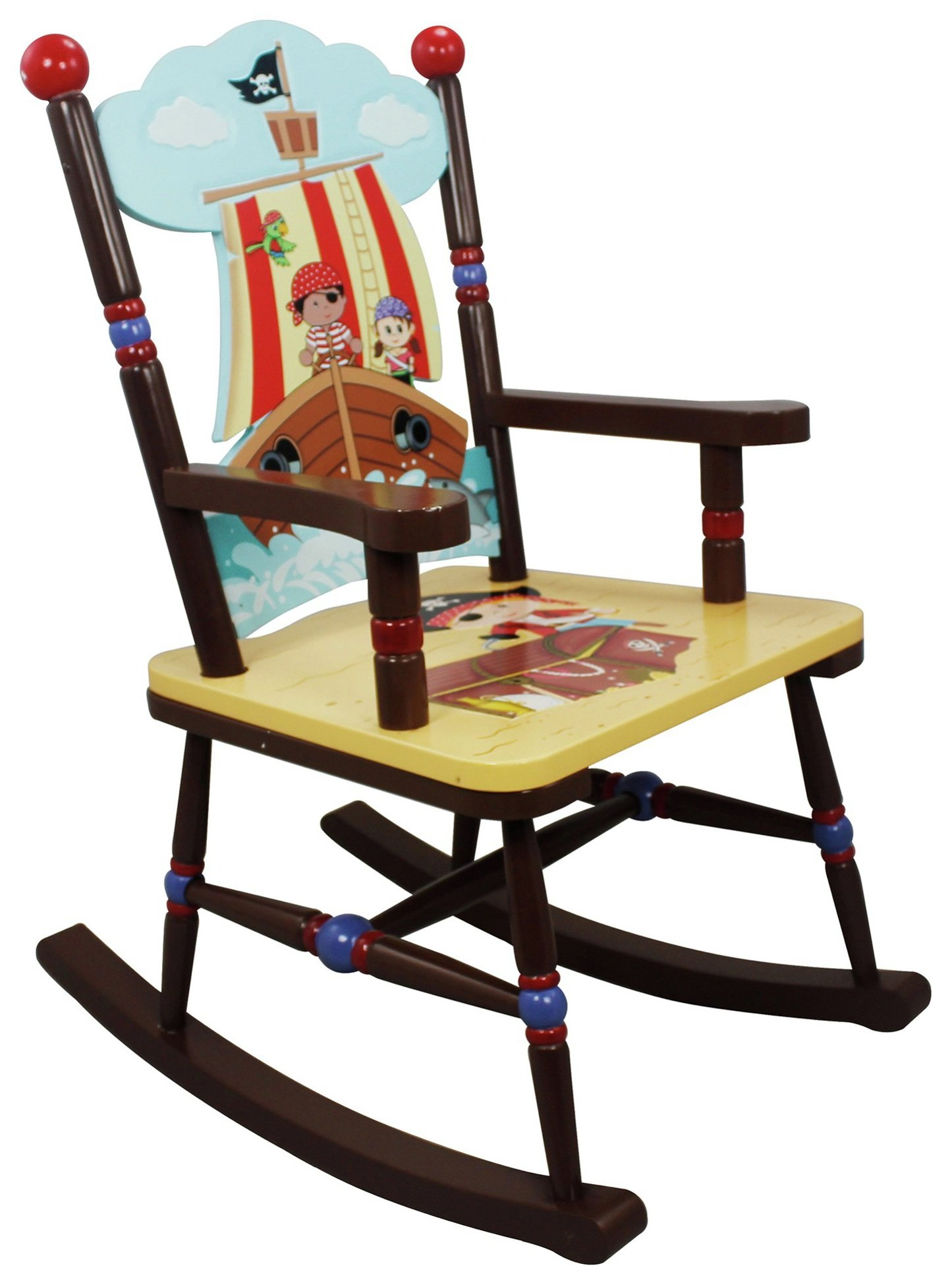 fantasy fields pirate rocking chair. Black Bedroom Furniture Sets. Home Design Ideas