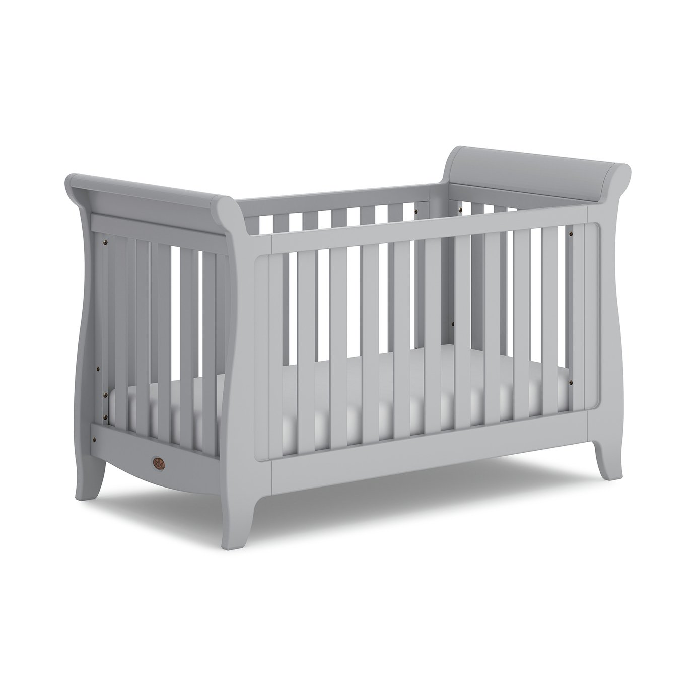Boori Sleigh Expandable Cot Bed - Pebble