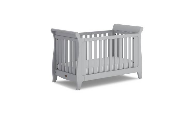 official photos e9233 71303 Buy Boori Sleigh Expandable Cot Bed - Pebble | Cots, cribs and cot beds |  Argos