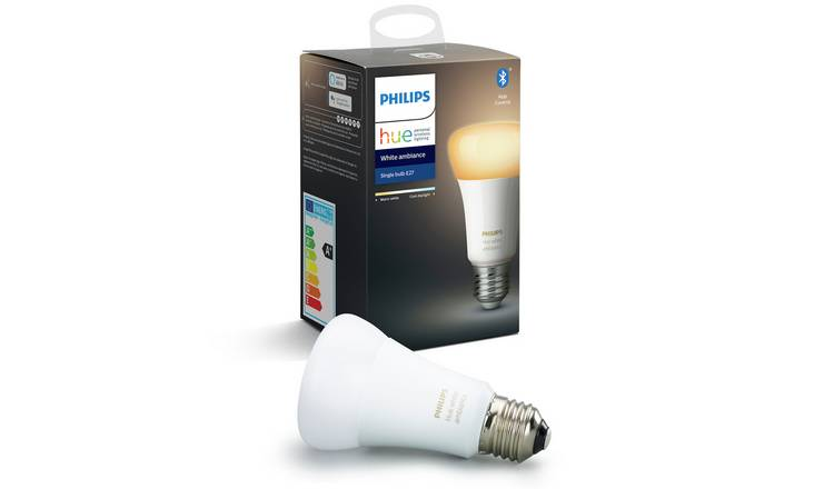 Philips Hue E27 White Ambiance Smart Bulb with Bluetooth