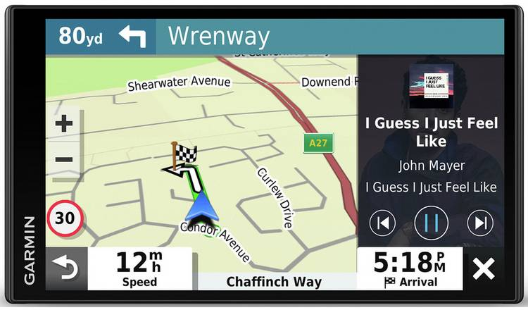 "Garmin DriveSmart 65 6"" Sat Nav with EU Maps&Alexa Enabled"