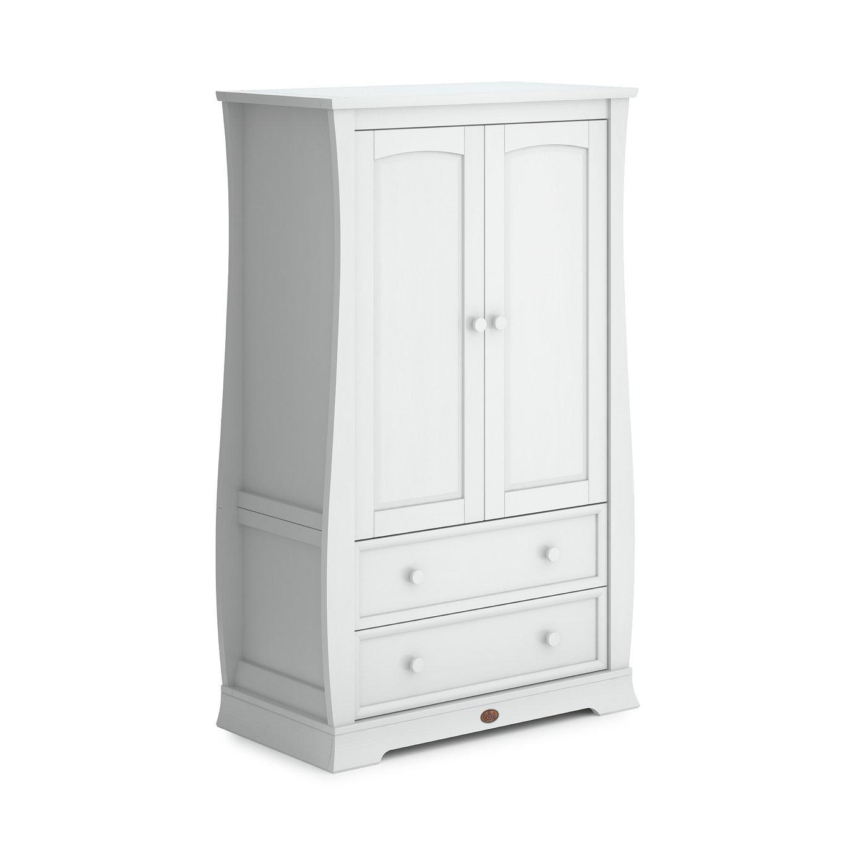 Boori Sleigh 2 Door 2 Drawer Wardrobe - White