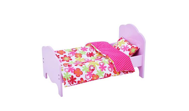Olivia's Little World Princess Doll and Bed - Summer Flowers