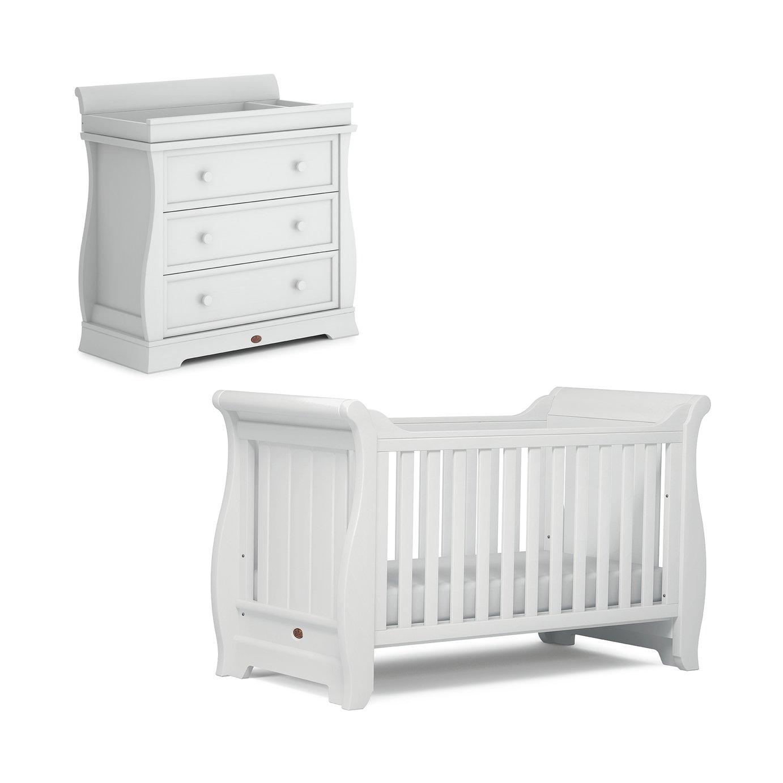 Boori Sleigh 2 Piece Room Set - White