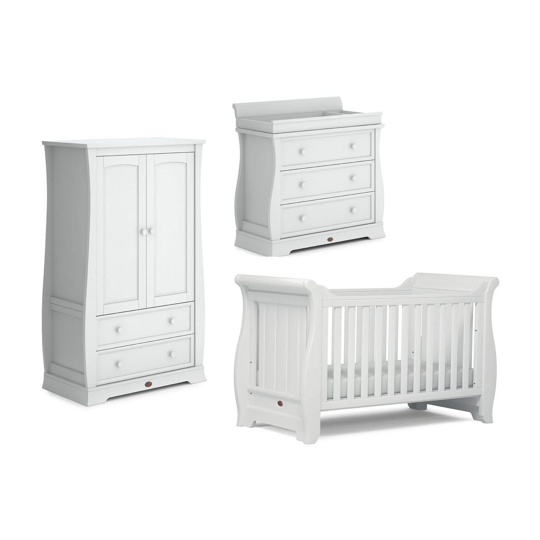 Boori Sleigh 3 Piece Room Set - White