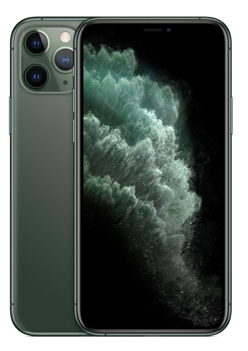 SIM Free iPhone 11 Pro 512GB Midnight Green - Pre-order