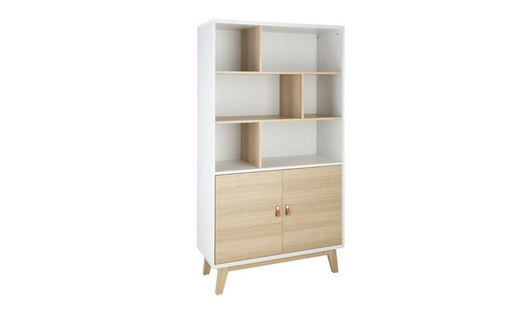 Argos Home Copenhagen 2 Door Display Cabinet