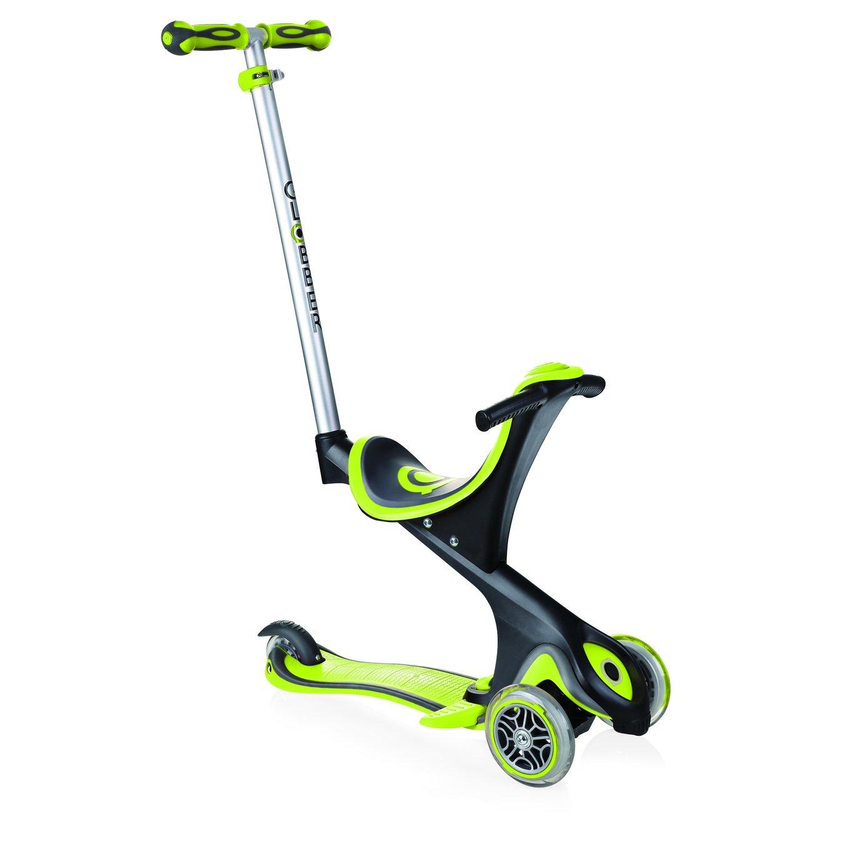 Globber Evo Comfort Scooter - Lime Green
