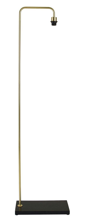 Habitat Marbelle Floor Lamp - Brass