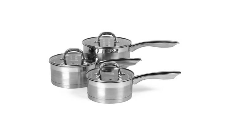 Salter Timeless Collection 3 Piece Pan Set