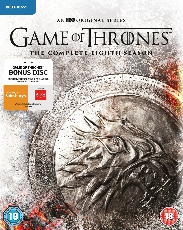 Game of Thrones Season 8 Blu-ray Box Set