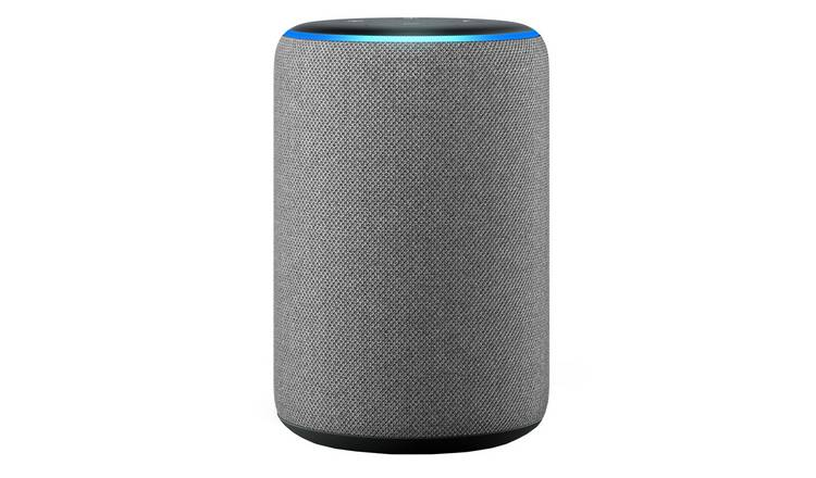 Amazon Echo Smart Speaker with Alexa - Heather Grey