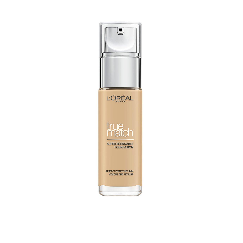 L'Oreal True Match Golden Almond Foundation - 30ml