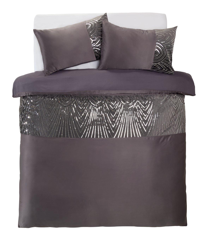 Argos Home Slate Sequin Bedding Set - Superking