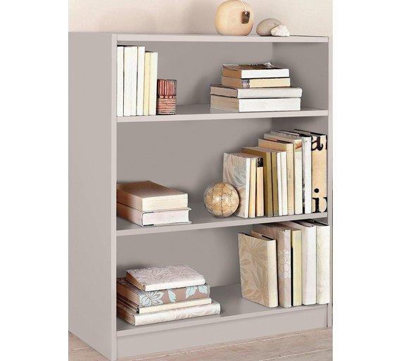 HOME Maine 2 Shelf Small Bookcase