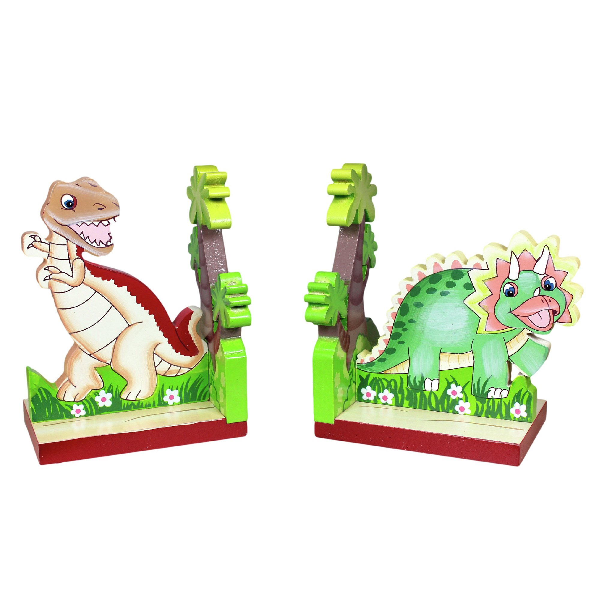 Image of Fantasy Fields Dinosaur Bookends.