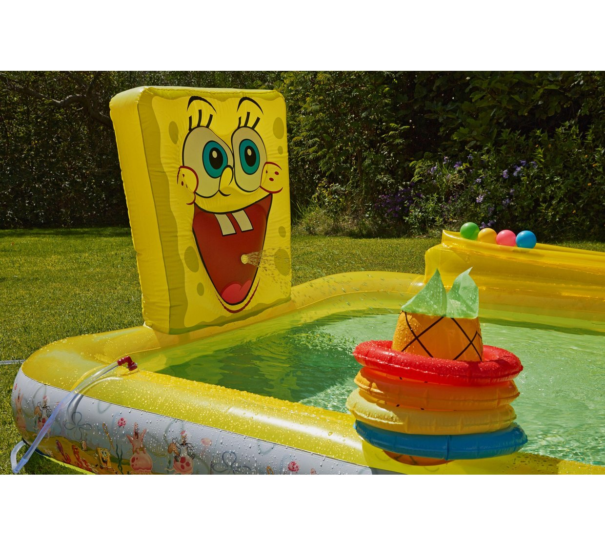 spongebob squarepants activity pool 8ftx 5ft argos smug deals uk