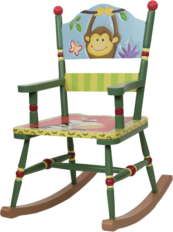 Image of Fantasy Fields Sunny Safari Rocking Chair.