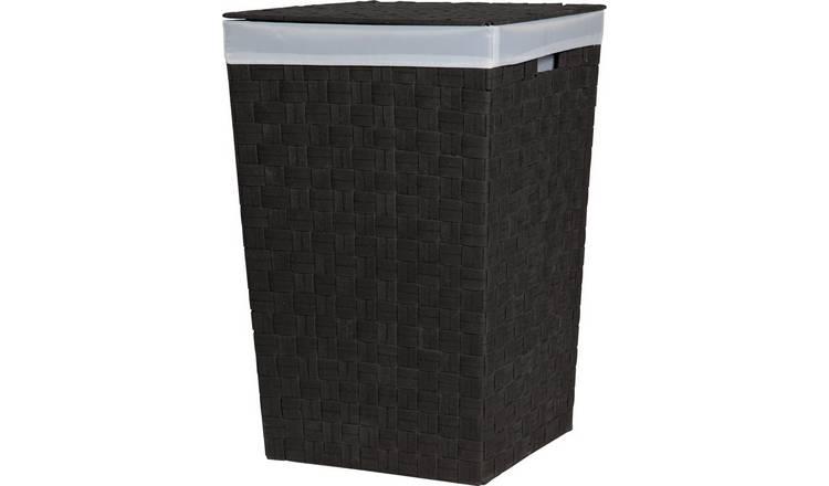 Buy Argos Home 60 Litre Yarn Laundry Bin Black Laundry Baskets Argos