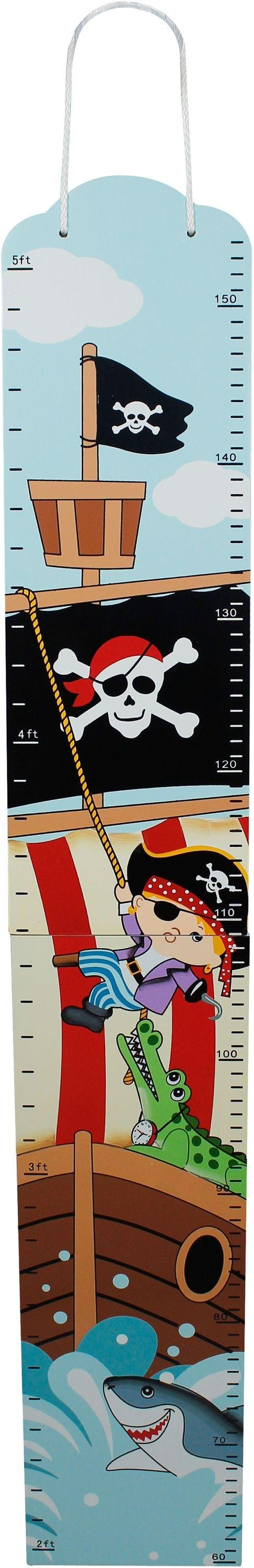 Image of Fantasy Fields Pirate Growth Chart.