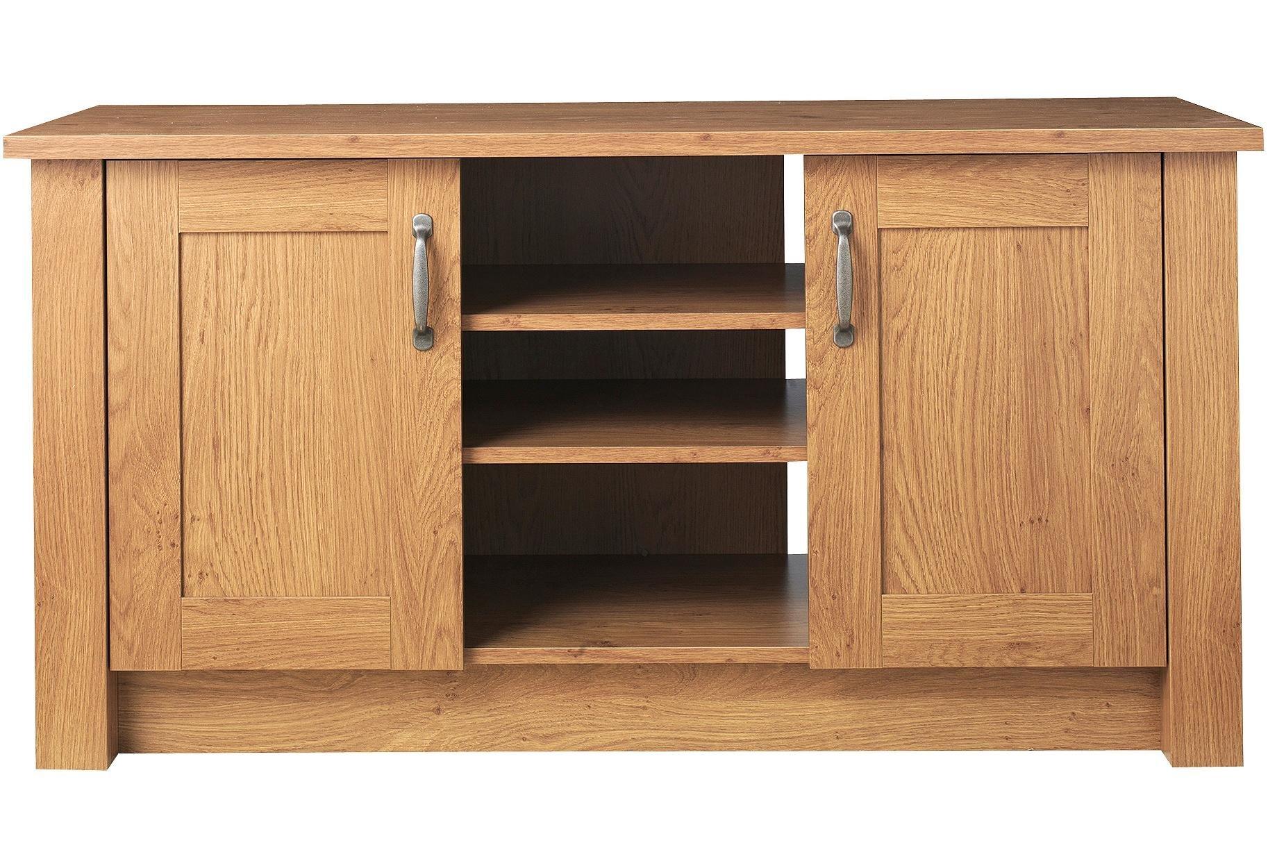 Buy Collection Ohio 2 Door Low Sideboard& TV Unit Oak Effect at Argos co uk Your Online