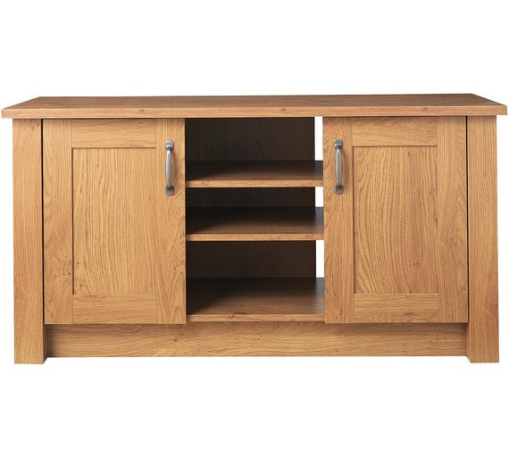 Buy Collection Ohio 2 Door Low Sideboard Tv Unit Oak Effect At Your Online
