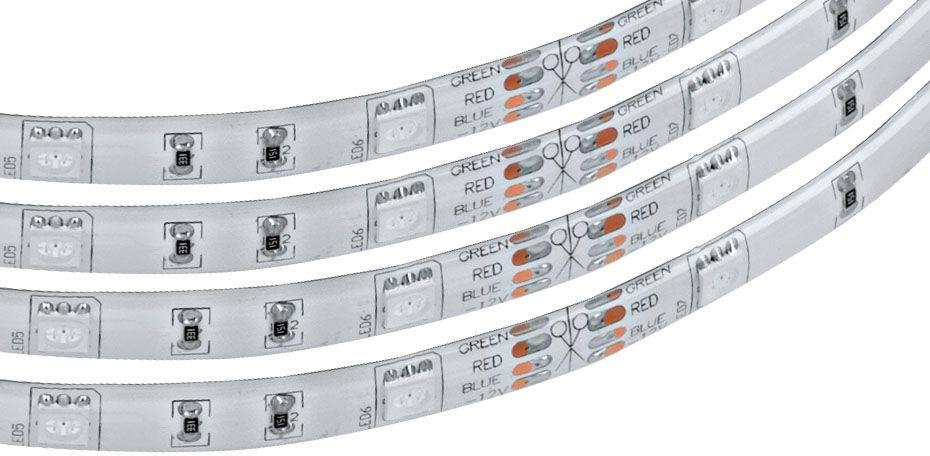 Image of Eglo 5m Colour Changing LED Remote Control Light Strip