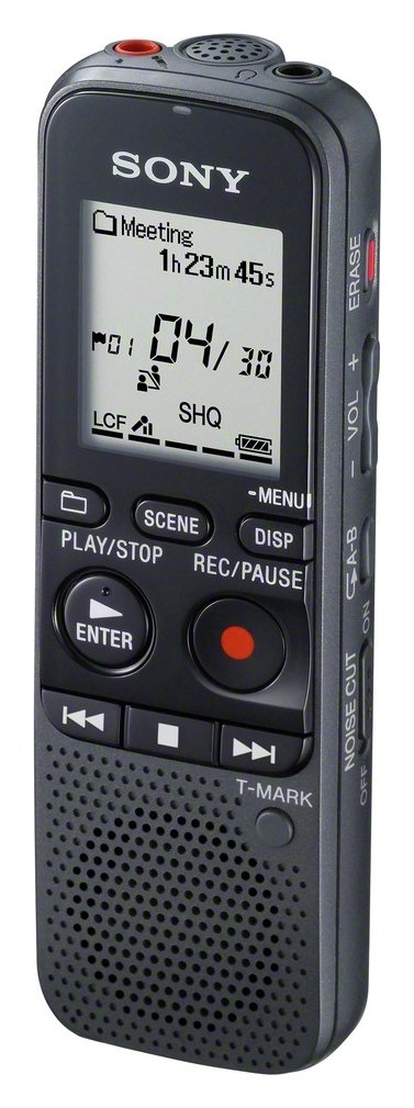 Sony Sony ICD-PX333D 4GB Dictation Machine with Dragon Software.