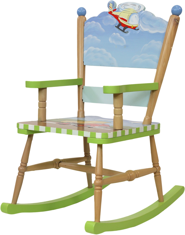 Image of Fantasy Fields Transportation Rocking Chair.