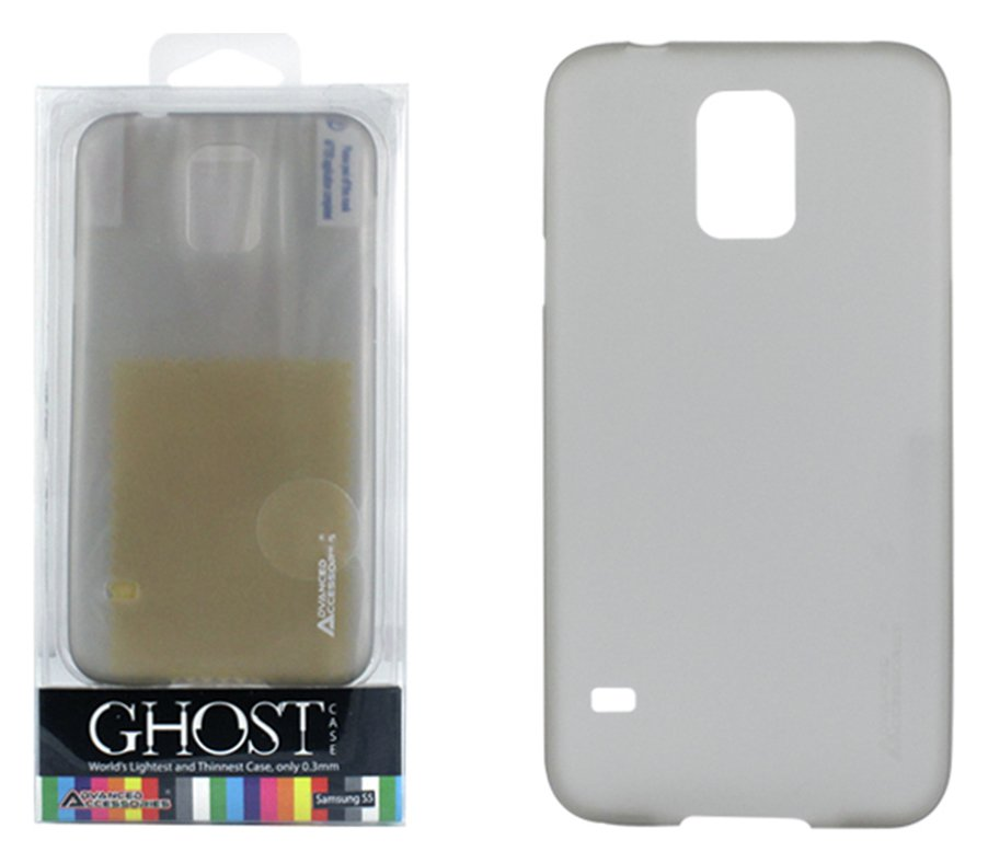 Image of Advanced Accessories Samsung Galaxy S5 Ghost Case - Grey.