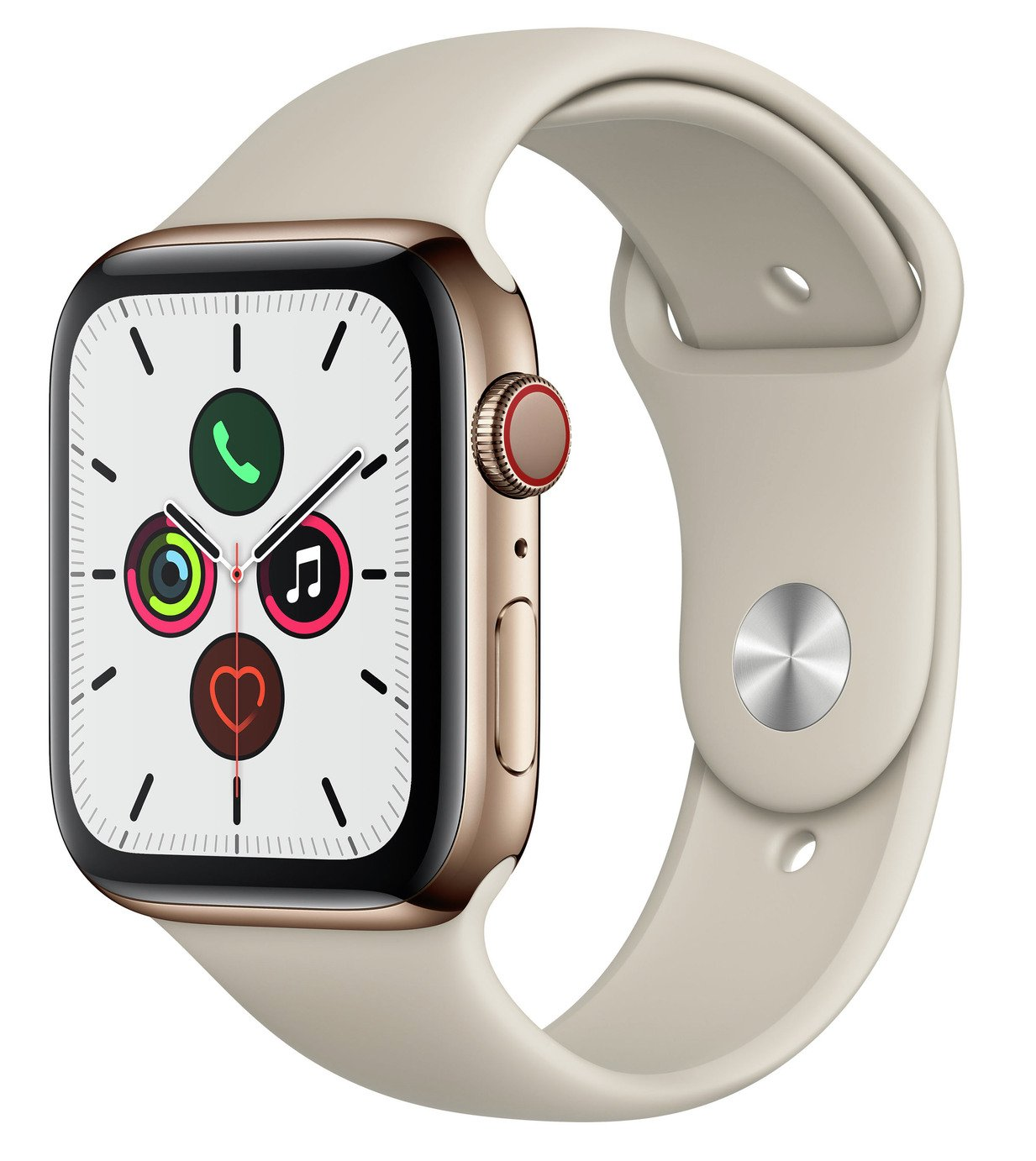 Apple Watch S5 Cellular 44mm Gold S Steel / Stone Band