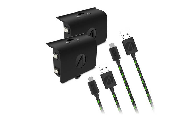 Stealth Xbox One Rechargeable Battery Twin Pack - Black