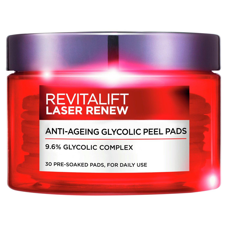 L'Oreal Revitalift Glycolic Peel Pads