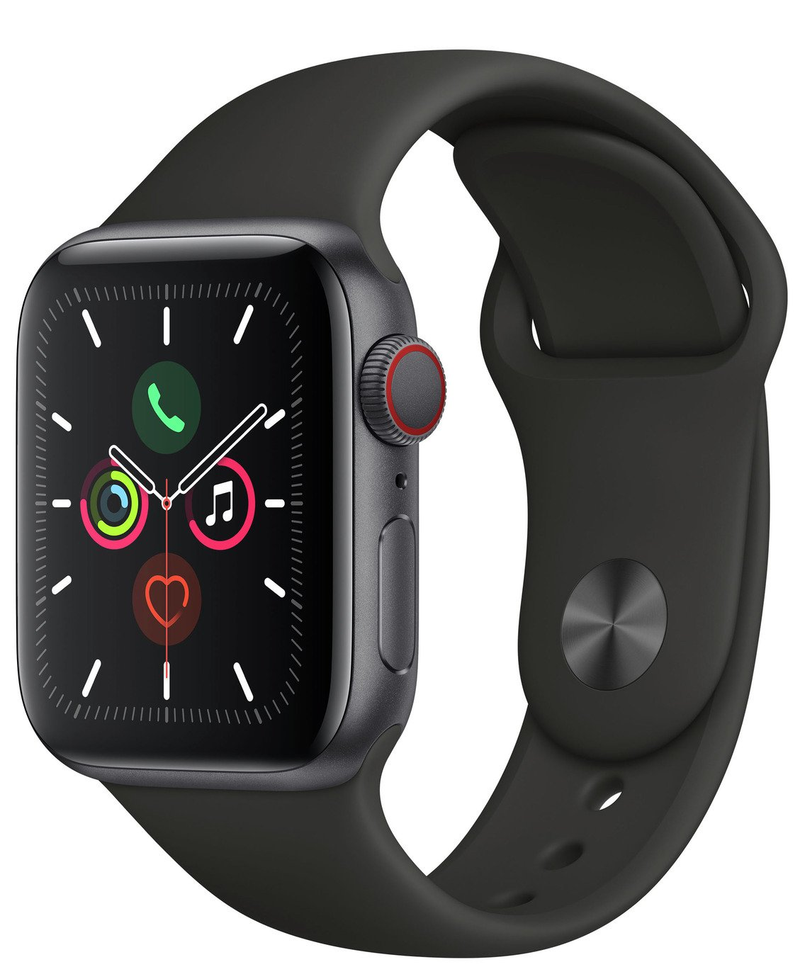 Apple Watch S5 Cellular 40mm Space Grey Alu/ Black Band