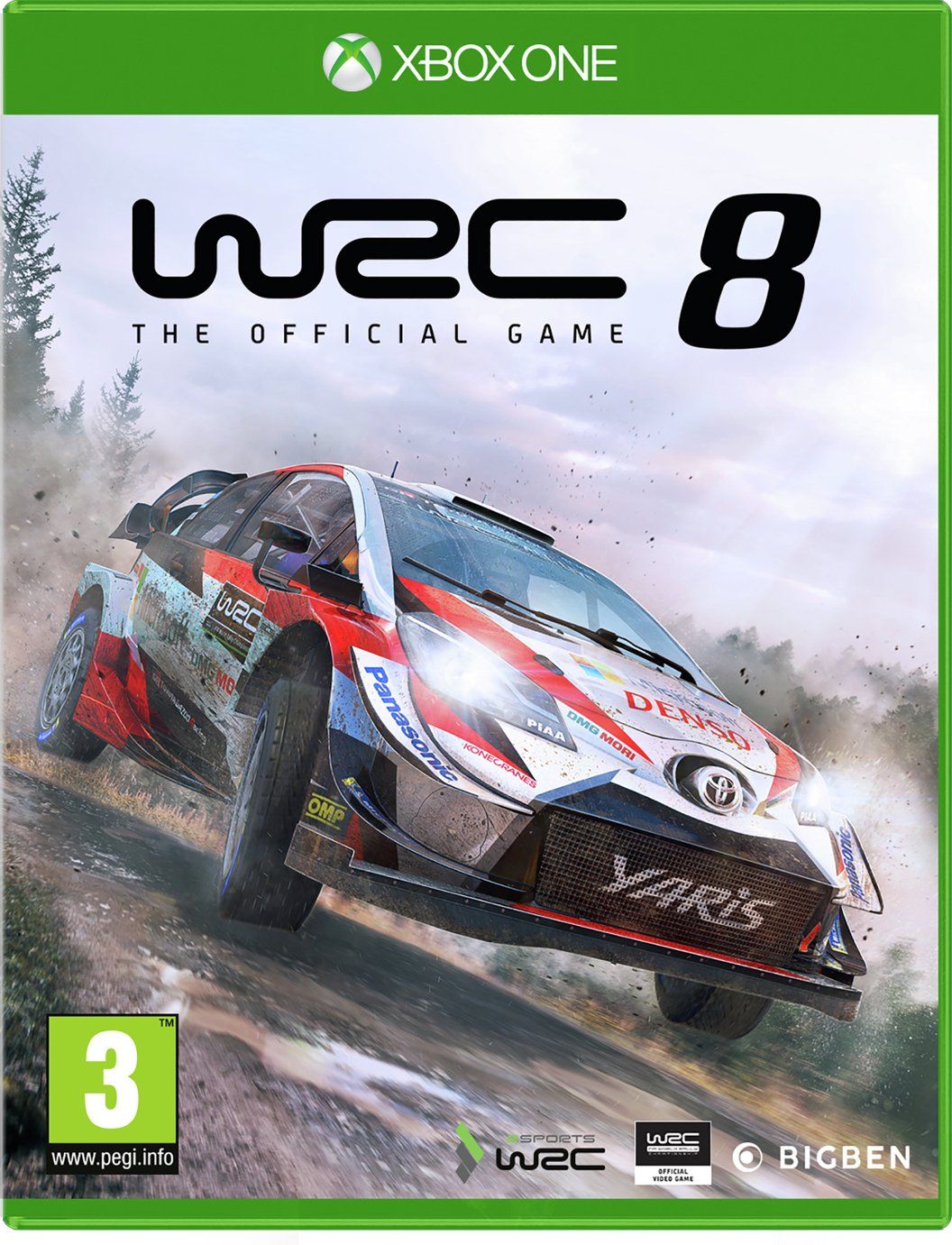 WRC 8 Xbox One Game