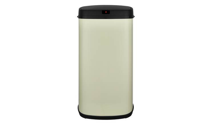 Buy Tower 42 Litre Sensor Bin Cream Kitchen Bins Argos