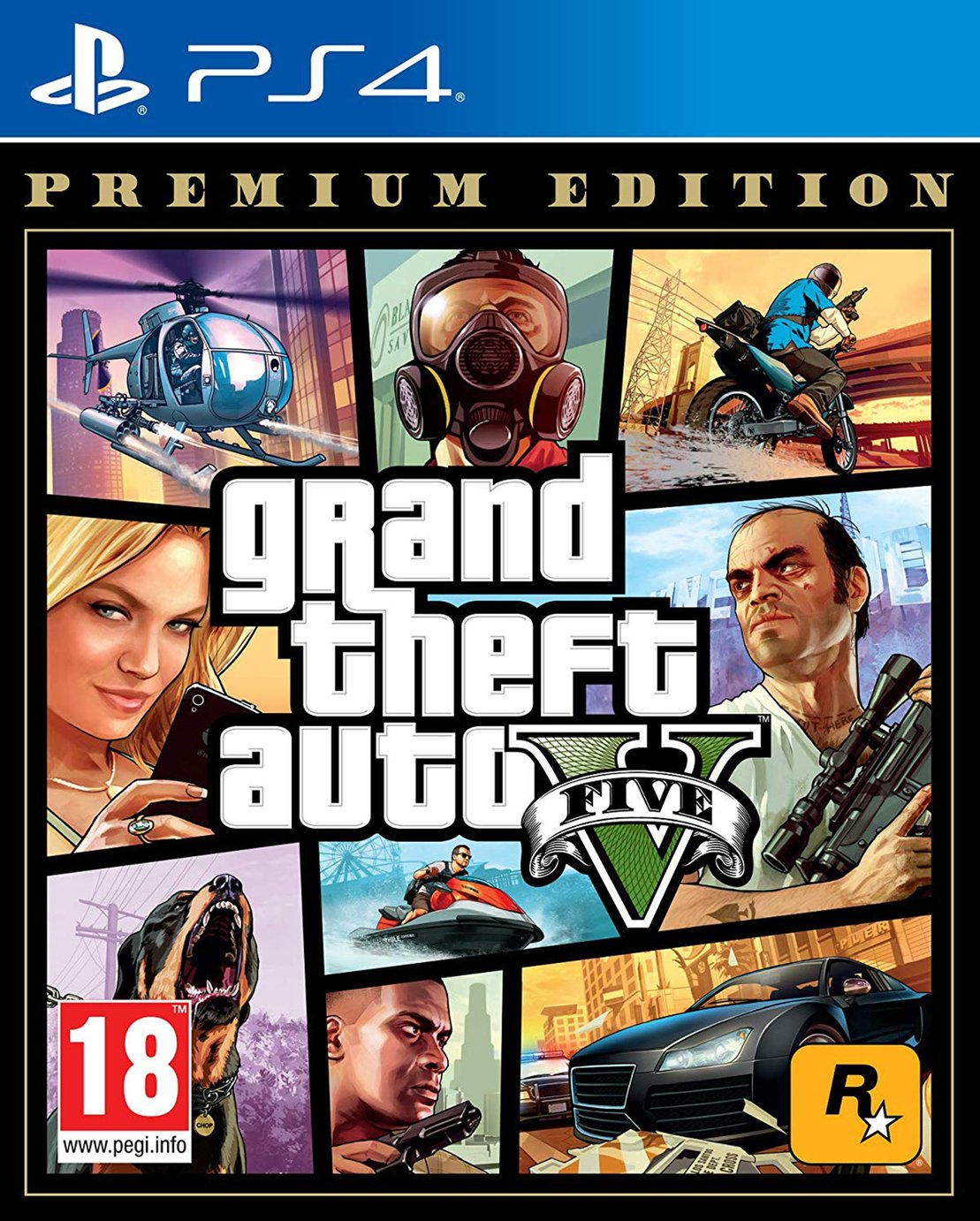 GTA V Premium Edition PS4 Game