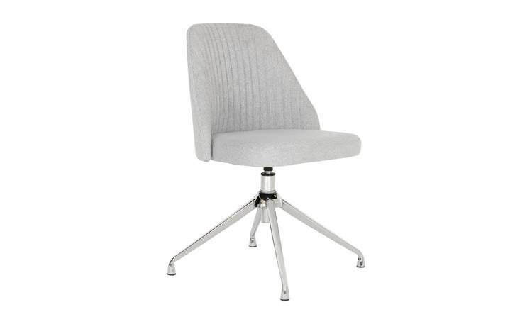 Habitat Nori Fabric Office Chair - Grey