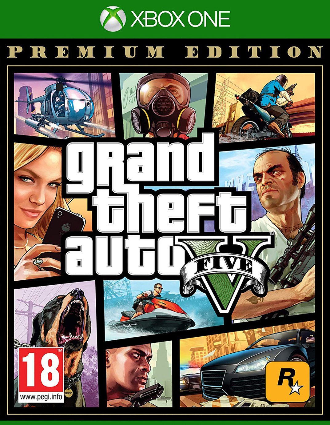 GTA V Premium Edition Xbox One Game