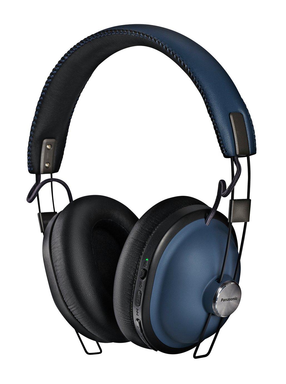 Panasonic RP-HTX90NE-A Over-Ear Wireless Headphones - Blue