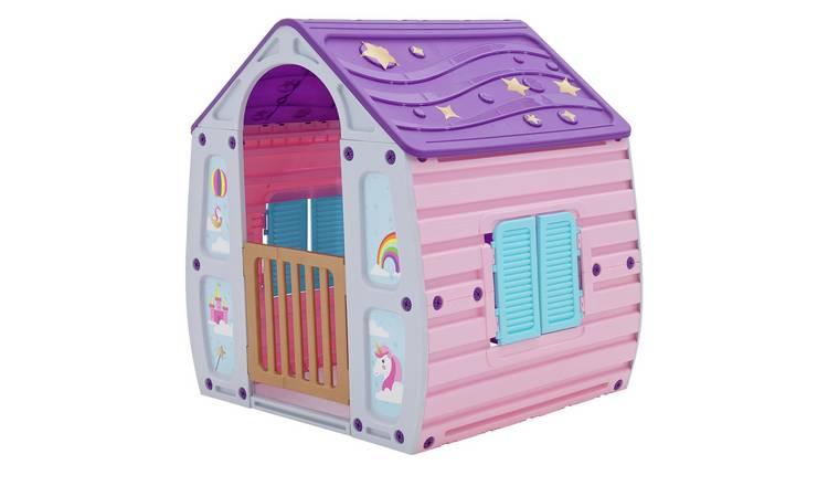 Chad Valley Magic Unicorn Playhouse from Argos' garden toy range