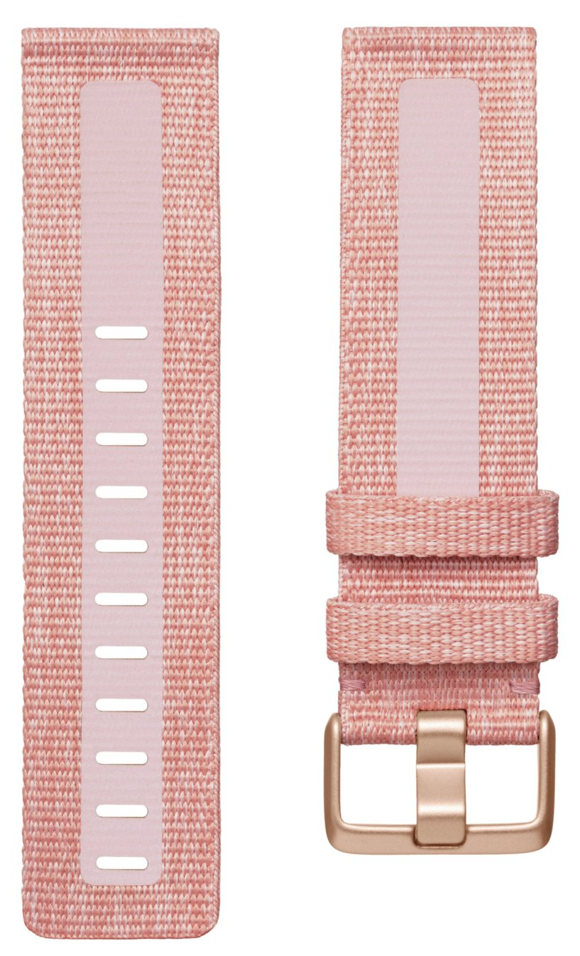 Fitbit Versa 2 Pink Woven Band - Large