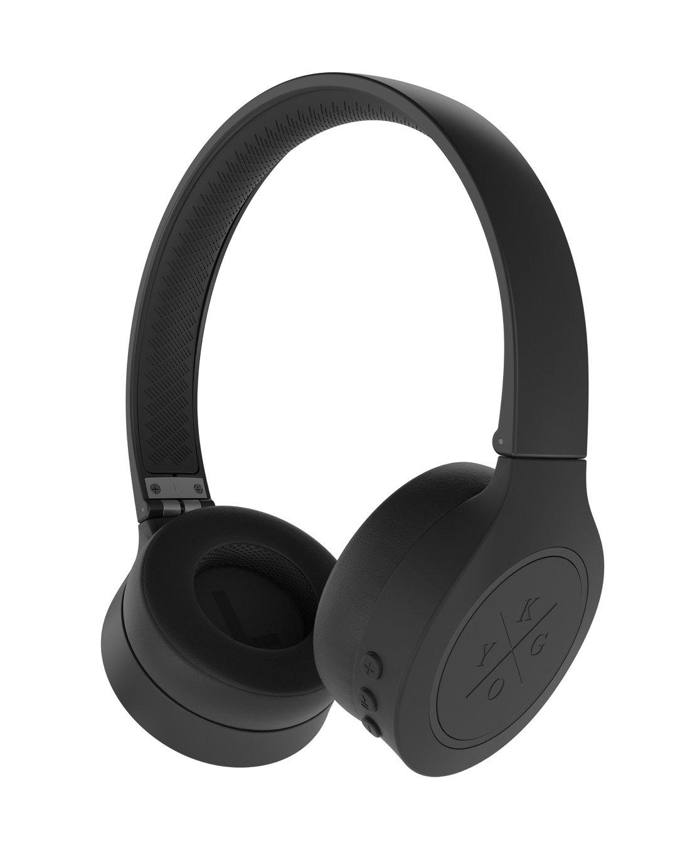Kygo A4/300 On-Ear Wireless Headphones - Black