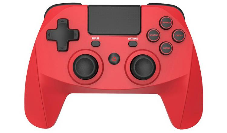 Buy Snakebyte Gamepad 4s Wireless Controller For Ps4 Red Ps4 Controllers And Steering Wheels Argos